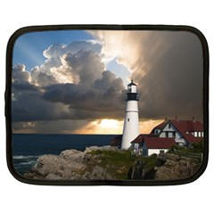 Lighthouse Beacon Light House Netbook Case (large)