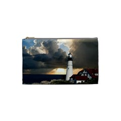 Lighthouse Beacon Light House Cosmetic Bag (small)