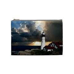 Lighthouse Beacon Light House Cosmetic Bag (medium)