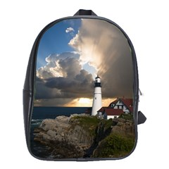 Lighthouse Beacon Light House School Bag (large)