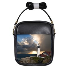 Lighthouse Beacon Light House Girls Sling Bags