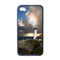 Lighthouse Beacon Light House Apple Iphone 4 Case (black) by Nexatart