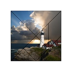 Lighthouse Beacon Light House Acrylic Tangram Puzzle (4  X 4 )