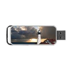 Lighthouse Beacon Light House Portable Usb Flash (one Side)