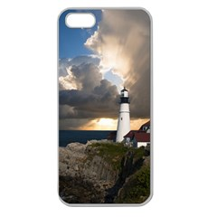 Lighthouse Beacon Light House Apple Seamless Iphone 5 Case (clear)