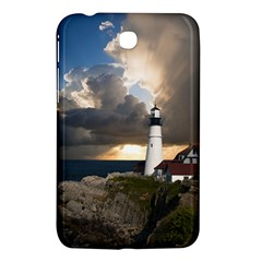 Lighthouse Beacon Light House Samsung Galaxy Tab 3 (7 ) P3200 Hardshell Case  by Nexatart