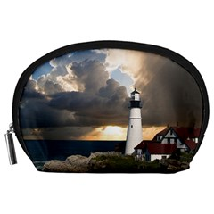Lighthouse Beacon Light House Accessory Pouches (large)  by Nexatart