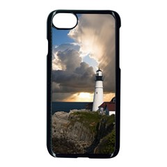 Lighthouse Beacon Light House Apple Iphone 7 Seamless Case (black)