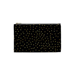 Grunge Pattern Black Triangles Cosmetic Bag (small)  by Nexatart