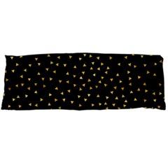 Grunge Pattern Black Triangles Body Pillow Case Dakimakura (two Sides)