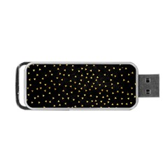 Grunge Pattern Black Triangles Portable Usb Flash (two Sides) by Nexatart