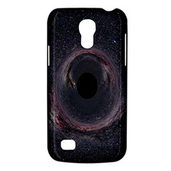 Black Hole Blue Space Galaxy Star Galaxy S4 Mini by Mariart