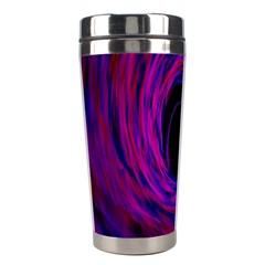 Black Hole Rainbow Blue Purple Stainless Steel Travel Tumblers by Mariart