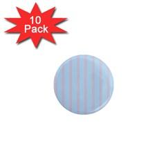 Bleu Pink Line Vertical 1  Mini Magnet (10 Pack)  by Mariart