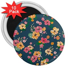 Aloha Hawaii Flower Floral Sexy 3  Magnets (10 Pack)  by Mariart