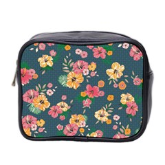 Aloha Hawaii Flower Floral Sexy Mini Toiletries Bag 2 Side by Mariart