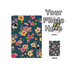 Aloha Hawaii Flower Floral Sexy Playing Cards 54 (mini)  by Mariart