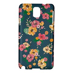 Aloha Hawaii Flower Floral Sexy Samsung Galaxy Note 3 N9005 Hardshell Case by Mariart