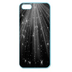 Black Rays Light Stars Space Apple Seamless Iphone 5 Case (color) by Mariart