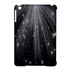 Black Rays Light Stars Space Apple Ipad Mini Hardshell Case (compatible With Smart Cover) by Mariart