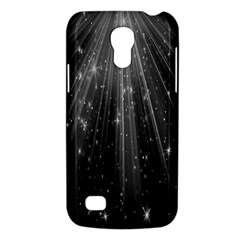 Black Rays Light Stars Space Galaxy S4 Mini by Mariart