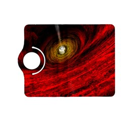 Black Red Space Hole Kindle Fire Hd (2013) Flip 360 Case by Mariart