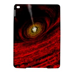 Black Red Space Hole Ipad Air 2 Hardshell Cases by Mariart