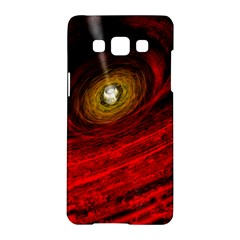 Black Red Space Hole Samsung Galaxy A5 Hardshell Case