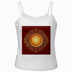 Badge Gilding Sun Red Oriental Ladies Camisoles by Nexatart