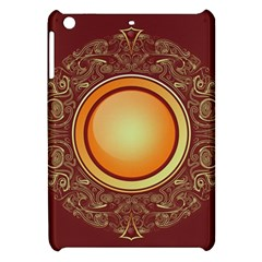 Badge Gilding Sun Red Oriental Apple Ipad Mini Hardshell Case by Nexatart