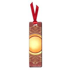 Badge Gilding Sun Red Oriental Small Book Marks by Nexatart