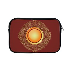 Badge Gilding Sun Red Oriental Apple Ipad Mini Zipper Cases