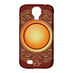 Badge Gilding Sun Red Oriental Samsung Galaxy S4 Classic Hardshell Case (pc+silicone) by Nexatart