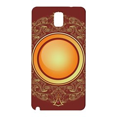 Badge Gilding Sun Red Oriental Samsung Galaxy Note 3 N9005 Hardshell Back Case