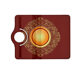 Badge Gilding Sun Red Oriental Kindle Fire Hd (2013) Flip 360 Case by Nexatart