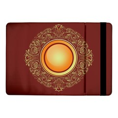 Badge Gilding Sun Red Oriental Samsung Galaxy Tab Pro 10 1  Flip Case