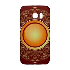 Badge Gilding Sun Red Oriental Galaxy S6 Edge
