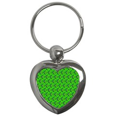 Abstract Art Circles Swirls Stars Key Chains (heart)