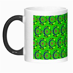 Abstract Art Circles Swirls Stars Morph Mugs