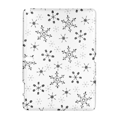 Black Holiday Snowflakes Galaxy Note 1 by Mariart