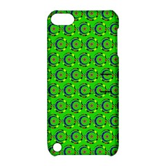 Abstract Art Circles Swirls Stars Apple Ipod Touch 5 Hardshell Case With Stand