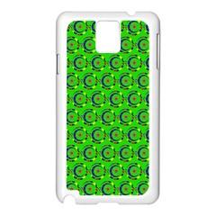 Abstract Art Circles Swirls Stars Samsung Galaxy Note 3 N9005 Case (white) by Nexatart