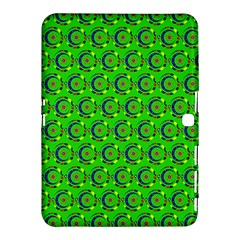 Abstract Art Circles Swirls Stars Samsung Galaxy Tab 4 (10 1 ) Hardshell Case  by Nexatart