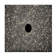 Black Hole Blue Space Galaxy Star Light Face Towel by Mariart