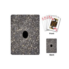 Black Hole Blue Space Galaxy Star Light Playing Cards (mini)  by Mariart