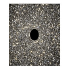Black Hole Blue Space Galaxy Star Light Shower Curtain 60  X 72  (medium)  by Mariart