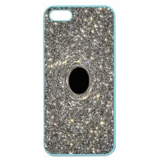 Black Hole Blue Space Galaxy Star Light Apple Seamless Iphone 5 Case (color) by Mariart