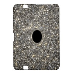 Black Hole Blue Space Galaxy Star Light Kindle Fire Hd 8 9  by Mariart