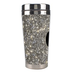Black Hole Blue Space Galaxy Star Light Stainless Steel Travel Tumblers by Mariart