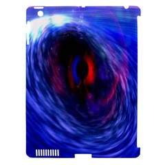Blue Red Eye Space Hole Galaxy Apple Ipad 3/4 Hardshell Case (compatible With Smart Cover) by Mariart